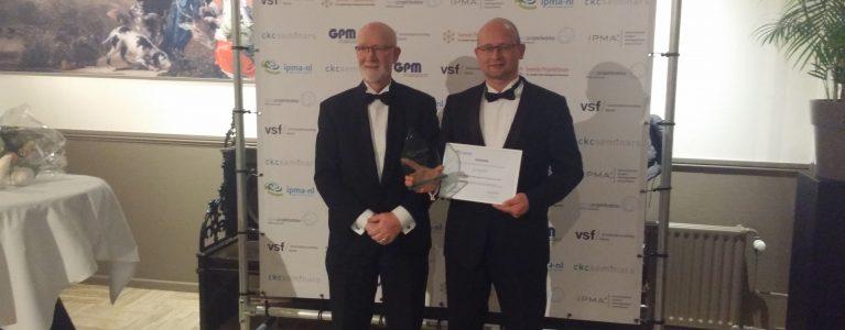 ZooEasy-directeur wint Award voor projectmanagement